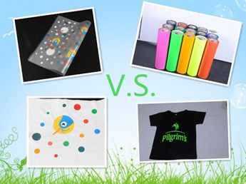 heat transfer sticker vs Heat transfer vinyl